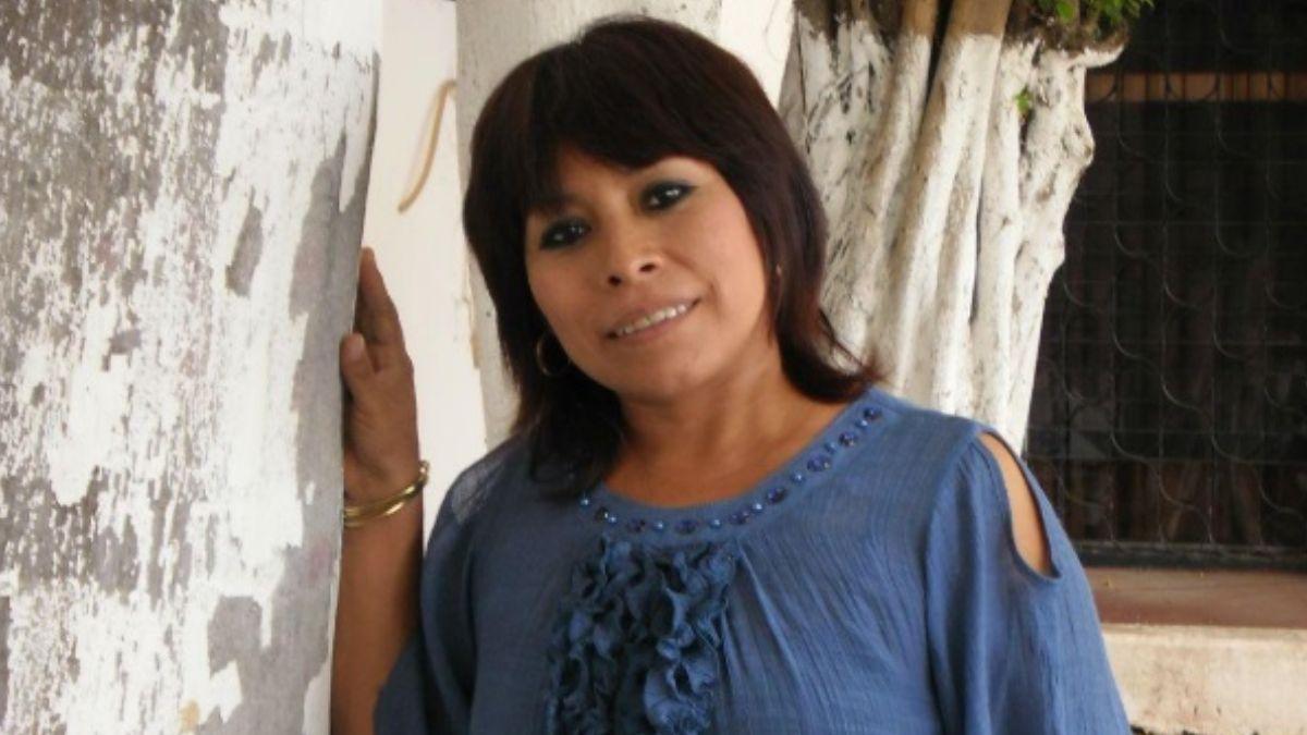 Foto: Marisol Ceh Moo, escritora mexicana. Twitter/@cultura_mx