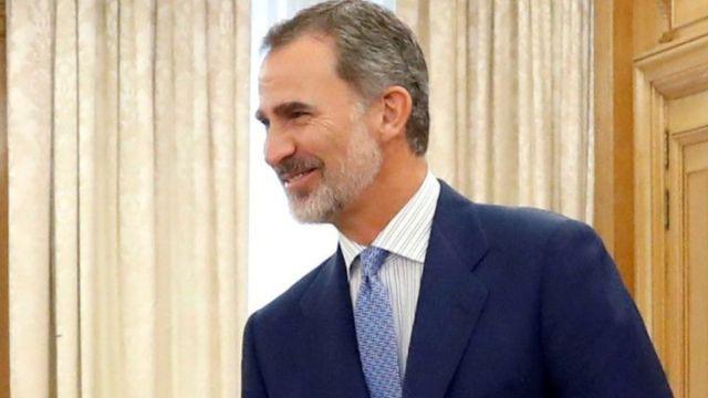 Foto: Felipe VI, rey de España. Reuters