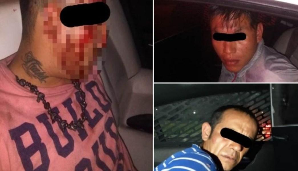 Policías detuvieron a tres presuntos secuestradores en la alcaldía Iztapalapa, CDMX. Twitter/@SSP_CDMX