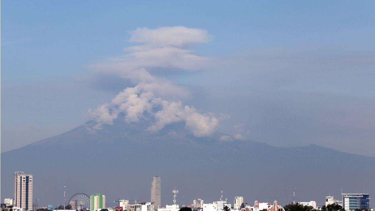 Foto: Vista panorámica del volcán Popocatépetl. Cuartoscuro/Archivo