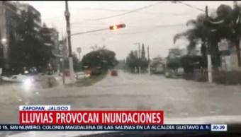 FOTO: Fuertes lluvias causan inundaciones en Guadalajara y Zapopan, 7 septiembre 2019