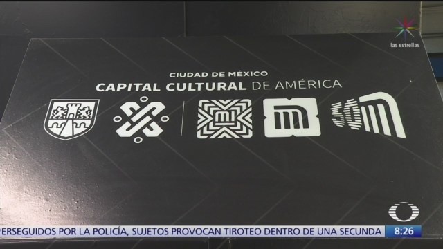 Galería de arte en Metro Bellas Artes