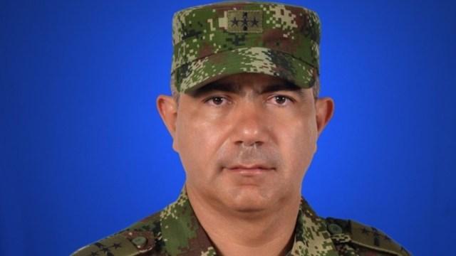 Imagen: El ministro de Defensa, Guillermo Botero aseguró que lo importante del informe son las pruebas entregadas a Naciones Unidas y no las fotos, 30 de septiembre de 2019 (Twitter @diosesazul1946)