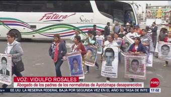 FOTO: Gertz Manero Se Reúne Con Padres 43 Ayotzinapa