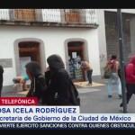Foto: Gobierno Cdmx Condena Actos Violencia Marcha 43 26 Septiembre 2019