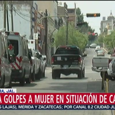 Golpean y matan a mujer indigente en Jalisco