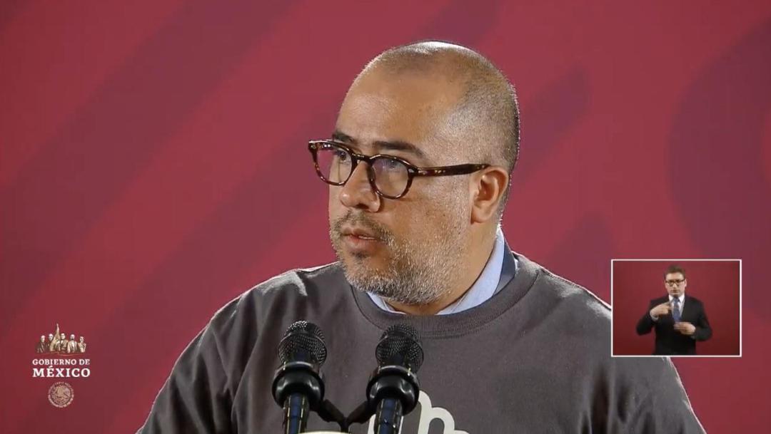 Foto: Omar Gómez Trejo, fiscal de la Unidad Especial de Investigación y Litigación para el caso Ayotzinapa, en conferencia de prensa, 26 septiembre 2019