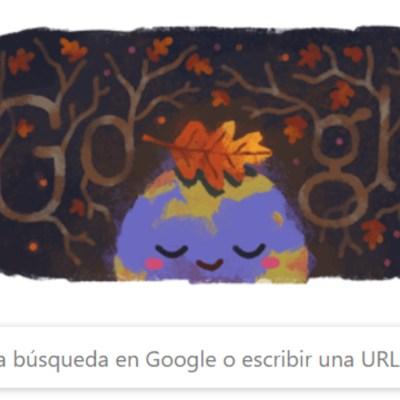Google celebra primer día del otoño con doodle especial