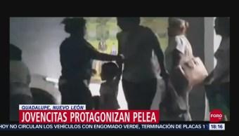 FOTO: Video Pelea Jovencitas Guadalupe Nuevo León