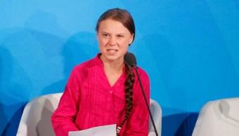 FOTO Greta Thunberg acusa a líderes mundial de robarse sus sueños (AP)