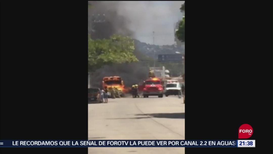 Fotos: Aunque de forma extraoficial, los medios de comunicación locales afirman que no hay víctimas de la conflagración, 16 de septiembre de 2019 (Noticieros Televisa)