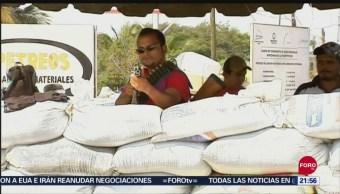 Foto: Habitantes Exigen Gobernador Silvano Aureoles Frenar Violencia Michoacán,