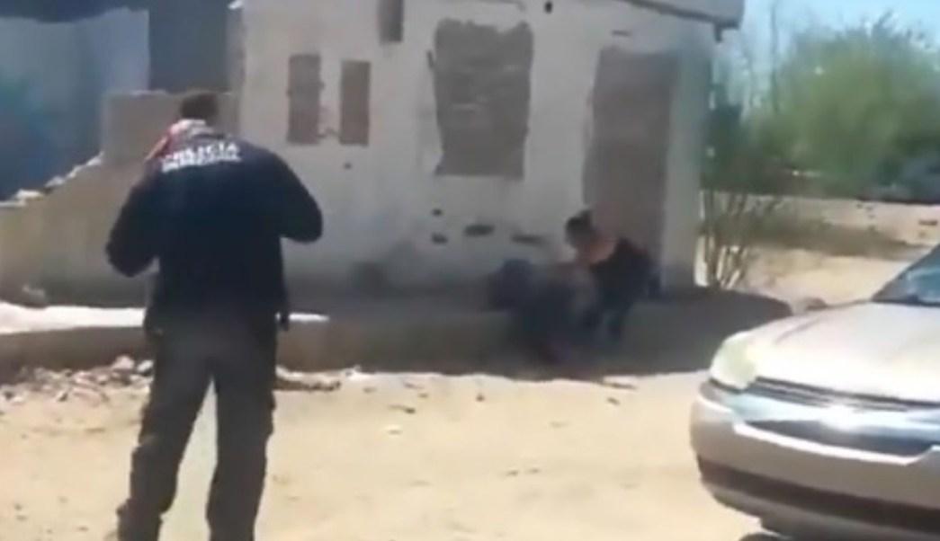 Hombre muerto en Sonora