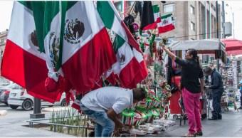 Imagen: Todo está listo para el Grito de Independencia en el Zócalo, 14 de septiembre de 2019 (ROGELIO MORALES /CUARTOSCURO.COM)