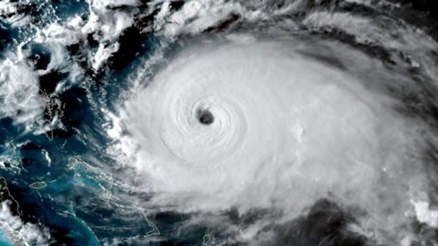 """Foto: El """"catastrófico"""" huracán Dorian se ha fortalecido en las últimas horas hasta alcanzar la categoría 5, 1 septiembre 2019"""