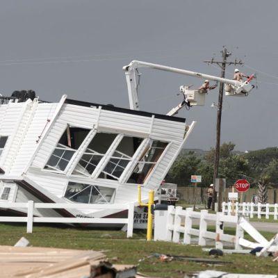 Huracán 'Dorian' azota las Carolinas con riesgo de inundaciones