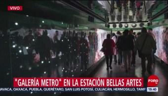 Foto: Inauguran Galería Arte Metro Bellas Artes 5 Septiembre 2019