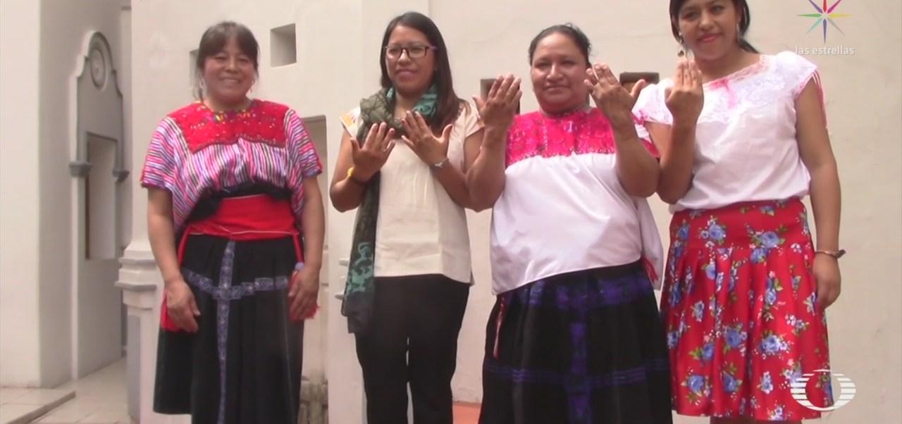 Foto: Indígenas Chiapanecas Gradúan Ingenieras Solares India 19 Septiembre 2019