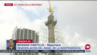 FOTO: Inician Trabajos Remodelación Ángel Independencia