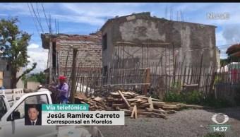 FOTO: Investigan Recursos Para Reconstrucción Morelos