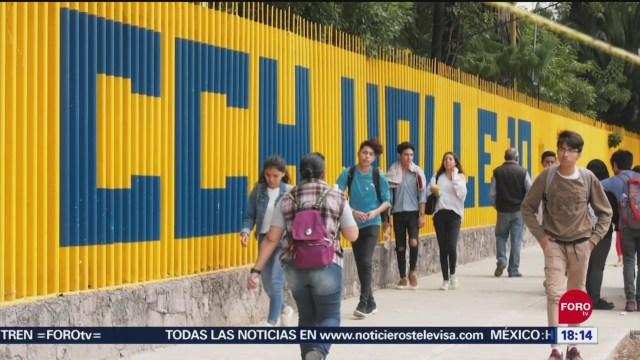 FOTO: Investigan Redes Sociales Estudiante CCH Vallejo