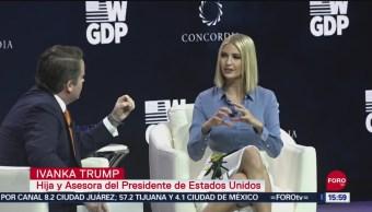 FOTO: Ivanka Trump Participa Cumbre Concordia NY