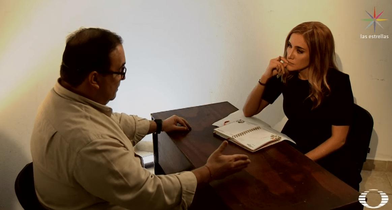 FOTO Fui 'caja china' del gobierno de Peña Nieto, Javier Duarte en entrevista con Danielle Dithurbide (Noticieros Televisa)