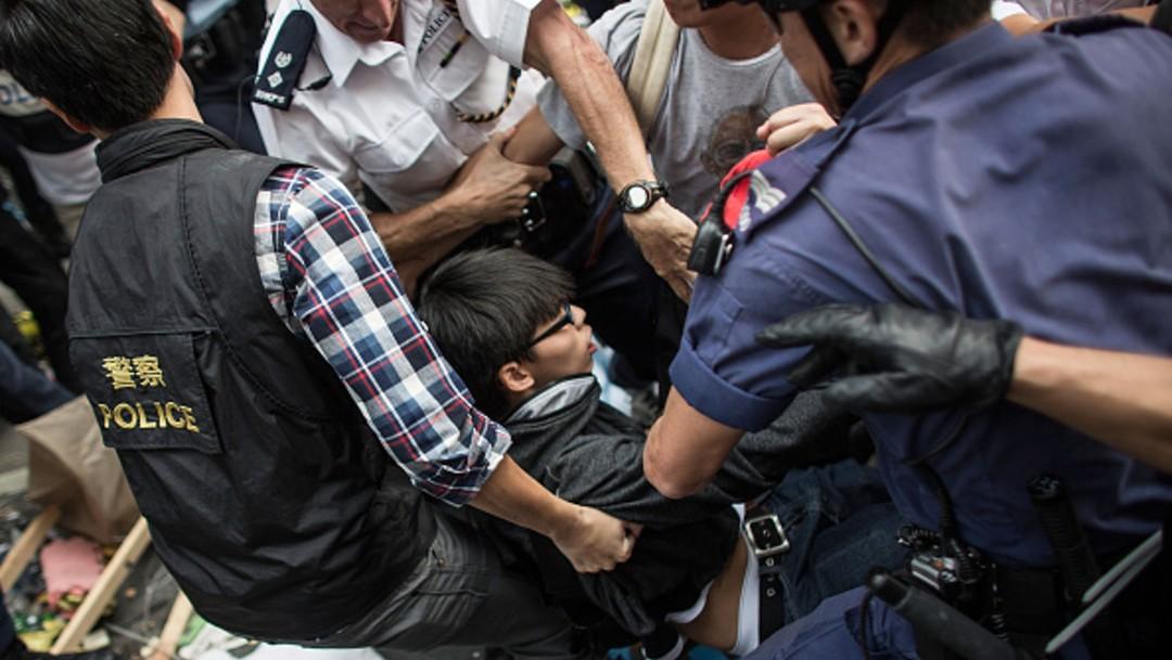 Detienen de nuevo al activista prodemócrata hongkonés Joshua Wong