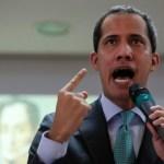Foto: Juan Guaidó, 9 de marzo de 2019, Caracas