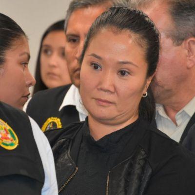 Reducen prisión preventiva a Keiko Fujimori; será de 18 meses