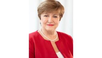 FOTO Kristalina Georgieva, nueva directora gerente del FMI (Twitter IMF)