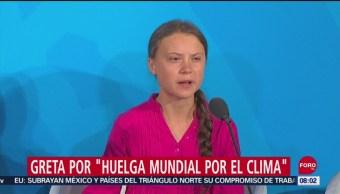 FOTO: La activista climática Greta Thumberg que está sacudiendo conciencias en el mundo, 28 septiembre 2019