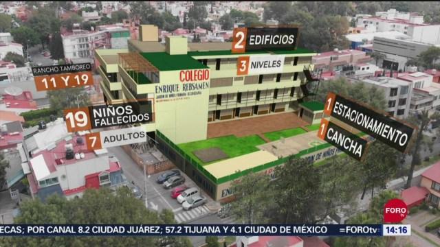 FOTO: Tragedia Colegio Rébsamen Aún Con Herida Abierta