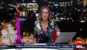 Foto: Las Noticias Danielle Dithurbide Forotv 6 Septiembre 2019