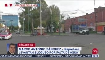 FOTO: Levantan Bloqueo Calzada De La Viga CDMX