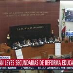 Foto: Leyes Secundarias Reforma Educativa Votadas Miércoles Senado 23 Septiembre 2019