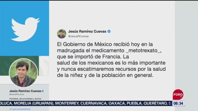 Foto: Llega México Metotrexato Se Importó Francia