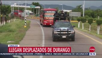 FOTO: Llegan Desplazados Durango Sinaloa