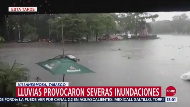 lluvias provocan severas inundaciones en tabasco