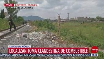 FOTO: Toma clandestina Ecatepec Edomex, 3 de septiembre de 2019