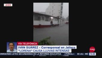FOTO: Lorena Se Degrada Tormenta Tropical Paso Por Jalisco