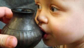 Fotos: El estudio proporciona información importante sobre las prácticas de lactancia materna y destete, y sobre la salud materno-infantil en la prehistoria, 25 de septiembre de 2019 (EFE)