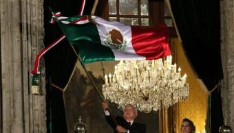 Foto: El presidente López Obrador encabezó su primer Grito de Independencia, 15 de septiembre de 2019 (MOISÉS PABLO /CUARTOSCURO.COM)