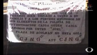 Investigan amenazas del CJNG contra fiscal de Tecámac tras atentado