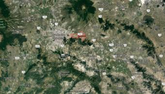 IMAGEN Se registran balaceras en Amozoc, Puebla (Google Maps)