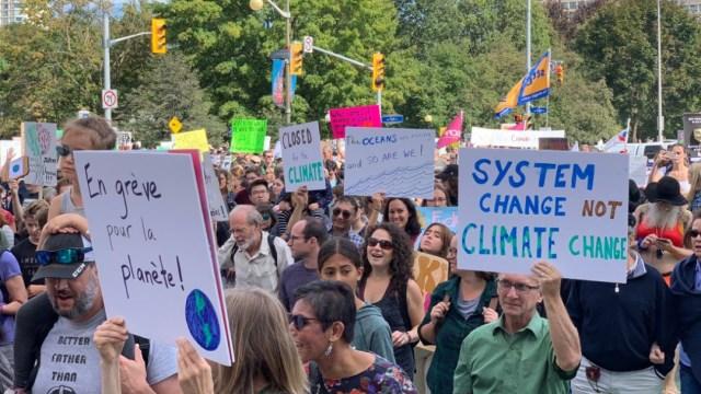 Foto: Marcha multitudinaria varias ciudades del mundo contra el cambio climático, 27 de septiembre 2019