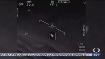 Marina de EU confirma autenticidad de videos con OVNI's