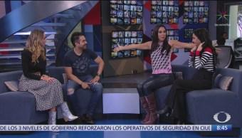 Martha Higareda y Omar Chaparro platican de 'Todos Caen' en Al Aire