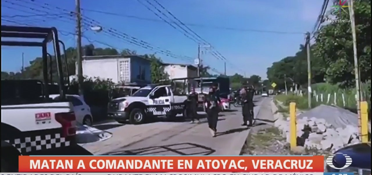 Matan a comandante de Policía Municipal de Atoyac, Veracruz