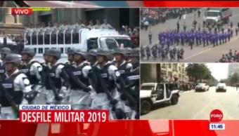 FOTO: Mexicanos disfrutan desfile militar del 16 de septiembre en CDMX, 16 septiembre 2019